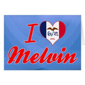 I Love Melvin, Iowa Greeting Card