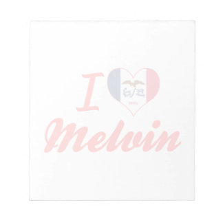 I Love Melvin, Iowa Memo Note Pad