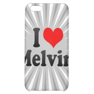 I love Melvin iPhone 5C Covers