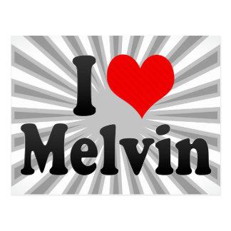 I love Melvin Postcard