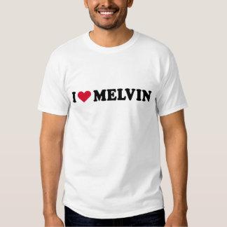 I LOVE MELVIN T-SHIRTS