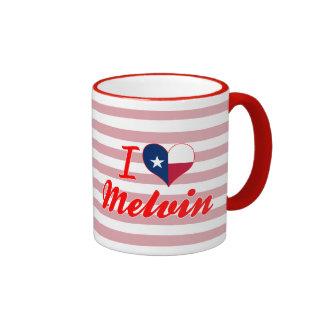 I Love Melvin, Texas Mug