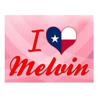 I Love Melvin, Texas Postcards