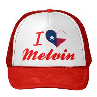 I Love Melvin, Texas Trucker Hat