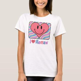 I Love Memaw T-Shirt