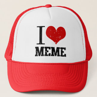 I Love Meme Trucker Hat