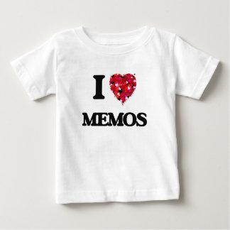 I Love Memos Tees