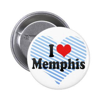 I Love Memphis Pin