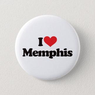 I Love Memphis Button