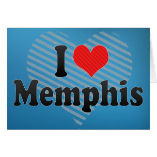 I Love Memphis Card