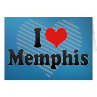 I Love Memphis Card
