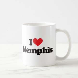 I Love Memphis Coffee Mug