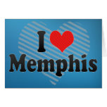 I Love Memphis Greeting Card