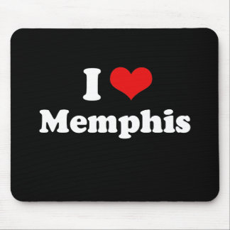 I LOVE MEMPHIS MOUSE PAD