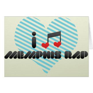 I Love Memphis Rap Card