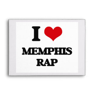 I Love MEMPHIS RAP Envelopes