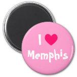 I Love Memphis Refrigerator Magnet