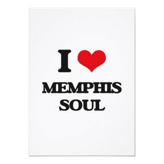I Love MEMPHIS SOUL 5x7 Paper Invitation Card