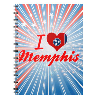 I Love Memphis, Tennessee Note Books