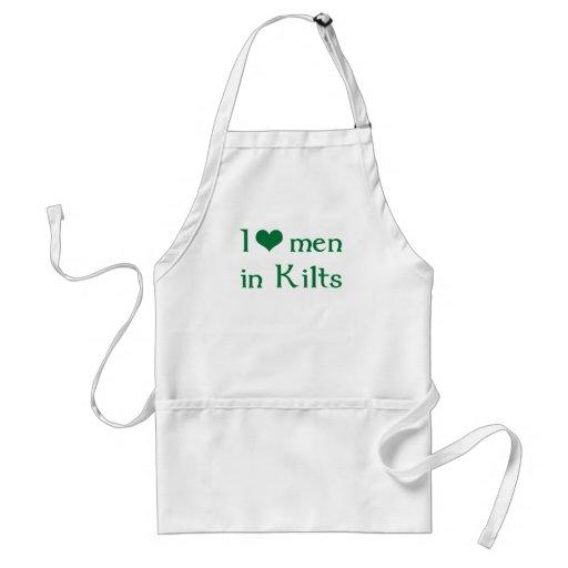 I love men in Kilts Apron