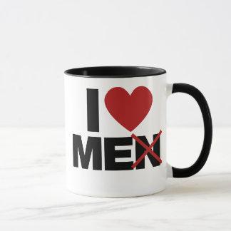 I Love Men Mug
