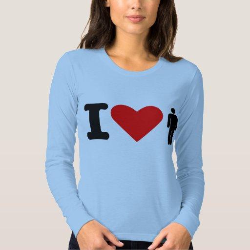 I love men tshirt