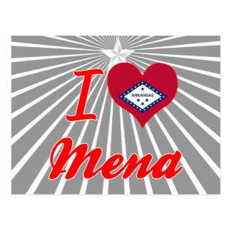 I Love Mena, Arkansas Post Cards