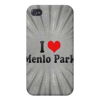 I Love Menlo Park, United States iPhone 4 Covers