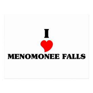 I love Menomonee Falls Postcard