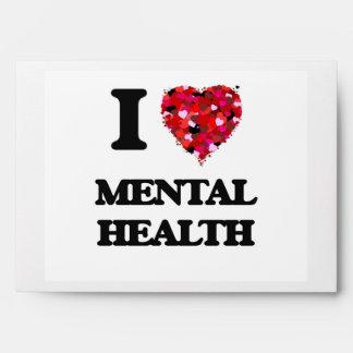 I Love Mental Health Envelopes