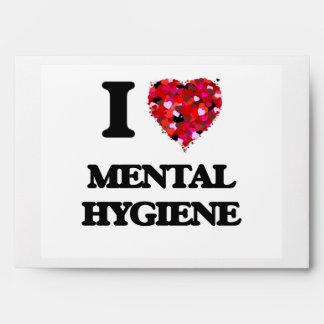 I Love Mental Hygiene Envelopes