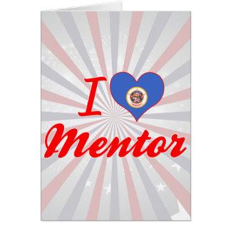 I Love Mentor, Minnesota Greeting Card