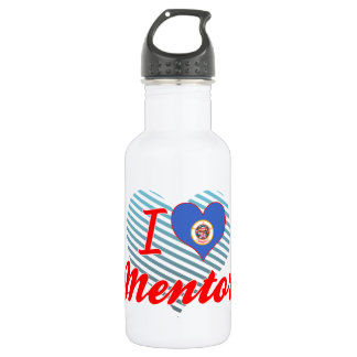 I Love Mentor, Minnesota 18oz Water Bottle