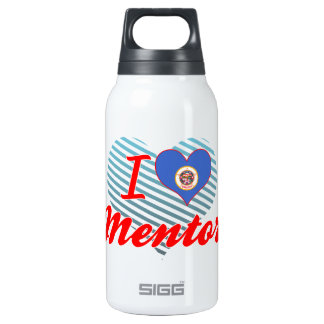 I Love Mentor, Minnesota 10 Oz Insulated SIGG Thermos Water Bottle