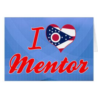 I Love Mentor, Ohio Greeting Card
