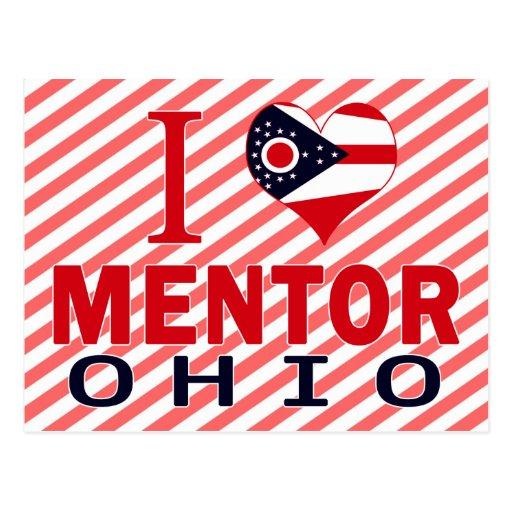 I love Mentor, Ohio Post Card