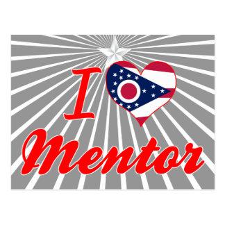 I Love Mentor, Ohio Postcard