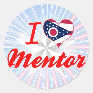 I Love Mentor, Ohio Classic Round Sticker