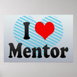 I Love Mentor United States Poster