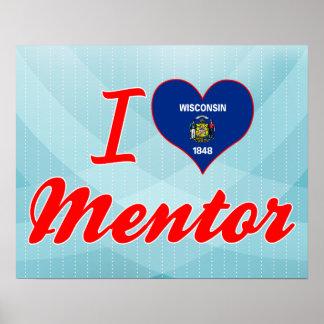 I Love Mentor Wisconsin Poster