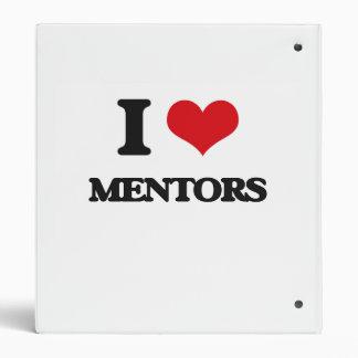 I Love Mentors 3 Ring Binders