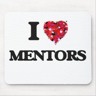 I Love Mentors Mouse Pad