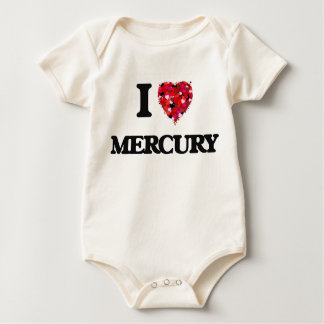 I Love Mercury Bodysuit