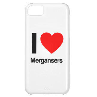 i love mergansers cover for iPhone 5C