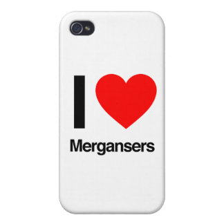i love mergansers iPhone 4/4S case