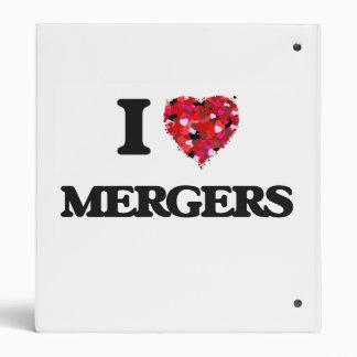 I Love Mergers 3 Ring Binders