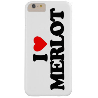 I LOVE MERLOT BARELY THERE iPhone 6 PLUS CASE