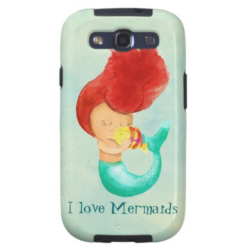 I love Mermaids Galaxy S3 Covers