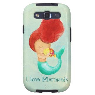 I love Mermaids Galaxy SIII Cases