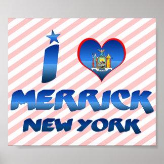 I love Merrick, New York Print